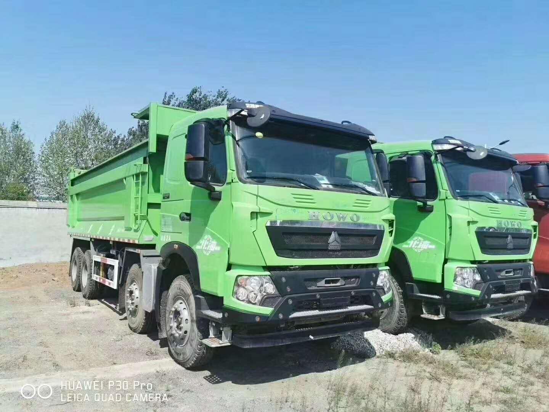 豪沃7.2米渣土车自卸车
