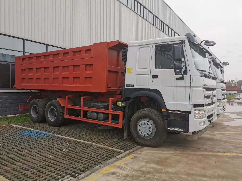 6米HOWO 7 ;自卸车; HW76新前脸驾驶室;
