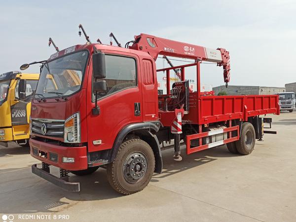 东风华神D912长兴6.3吨随车吊厂家 价格