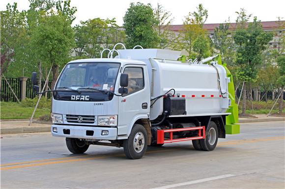 國五5方餐廚車多少錢東風小多利卡廚余垃圾車價格優惠大促銷