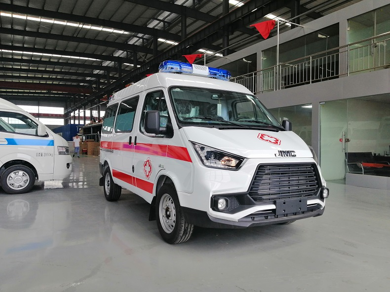 国6江铃特顺短轴转运型救护车 救护车厂家特价直销