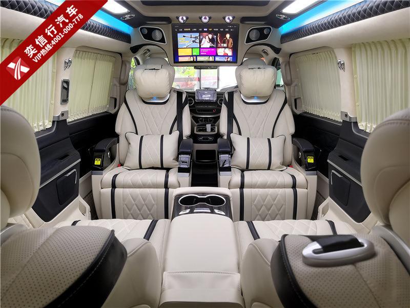 湖北 鄂州市 奔馳V260改裝房車 S級前臉,邁巴赫級內飾,盡顯奢華,報價及圖片