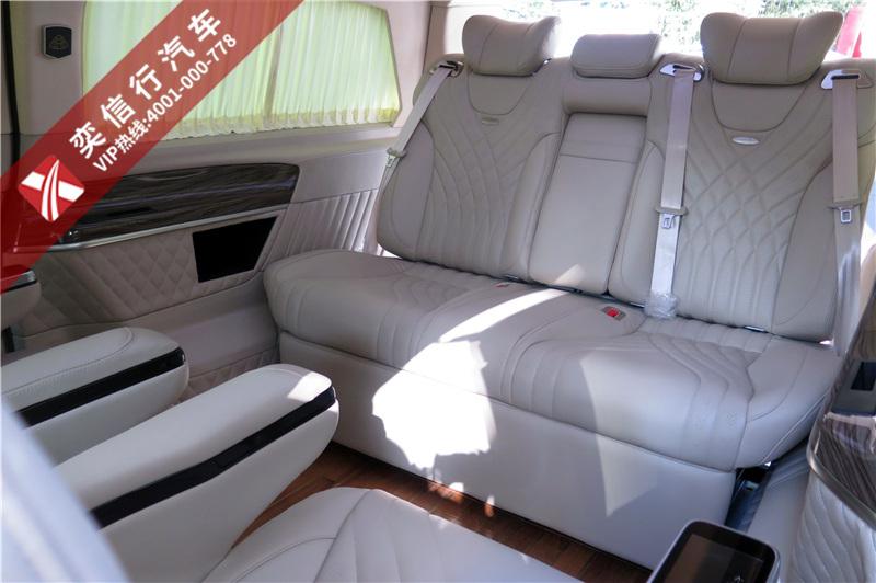湖州  高級定制版商務車哪里賣?奔馳V260改裝房車鉆石版報價?