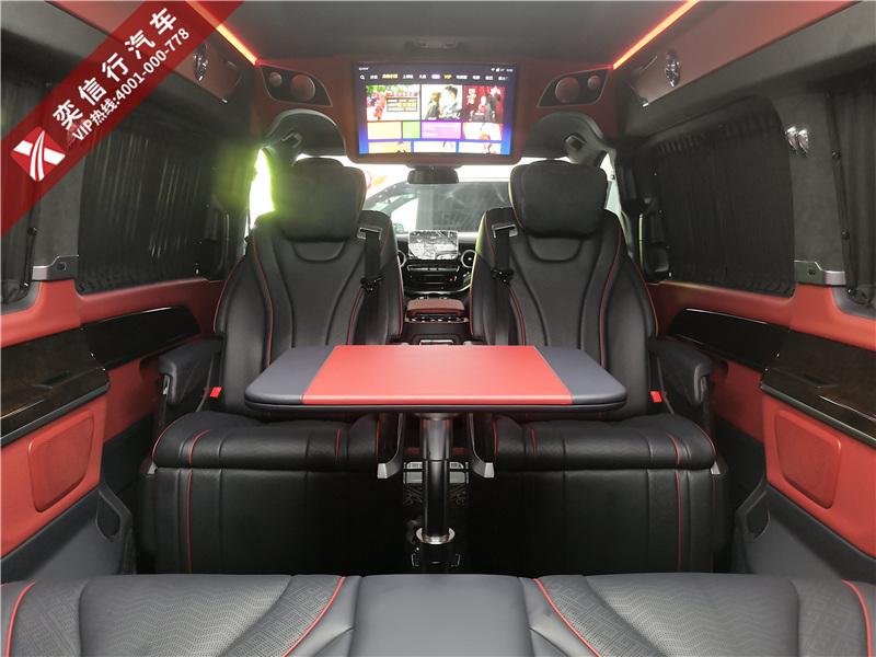 金華 東陽 高級奔馳商務車定制 內飾升級  V級房車7座明星保姆車 工廠店直銷報價