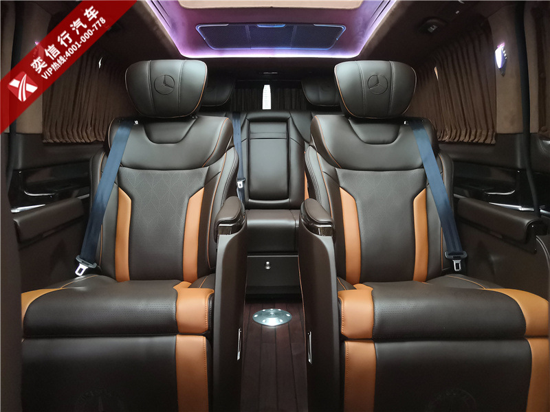 浙江 绍兴  奔驰V260l房车定制改装多少钱,内饰个性改装图片展示