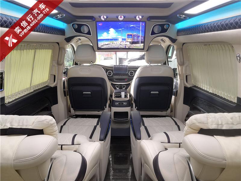 江苏 扬州 奔驰V级改装房车 Vs680普曼版 奢华改装 V260商务车顶尖车型报价