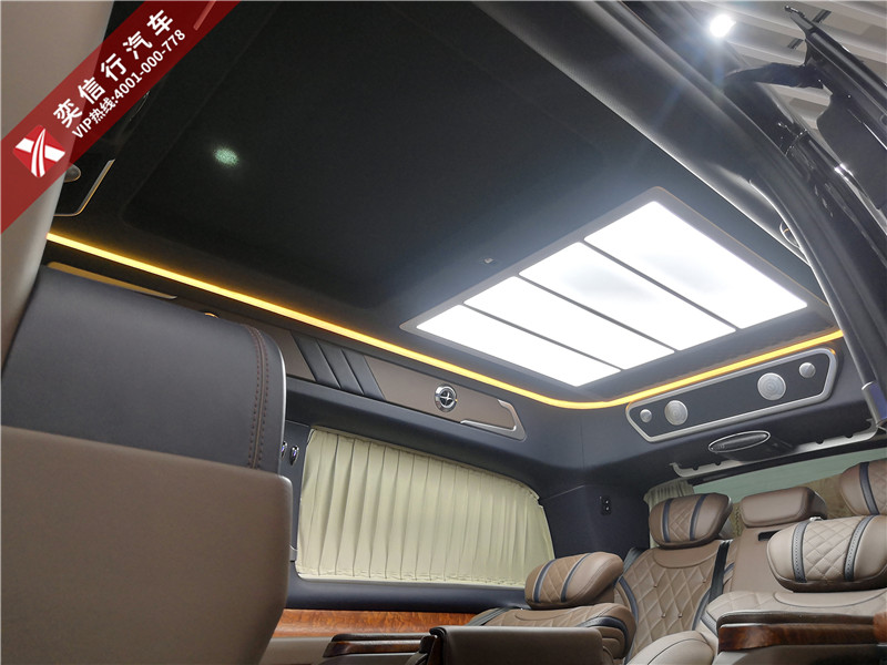 商务车领域佼佼者,内饰豪华,设计别致,彰显老板品味实力,V260房车