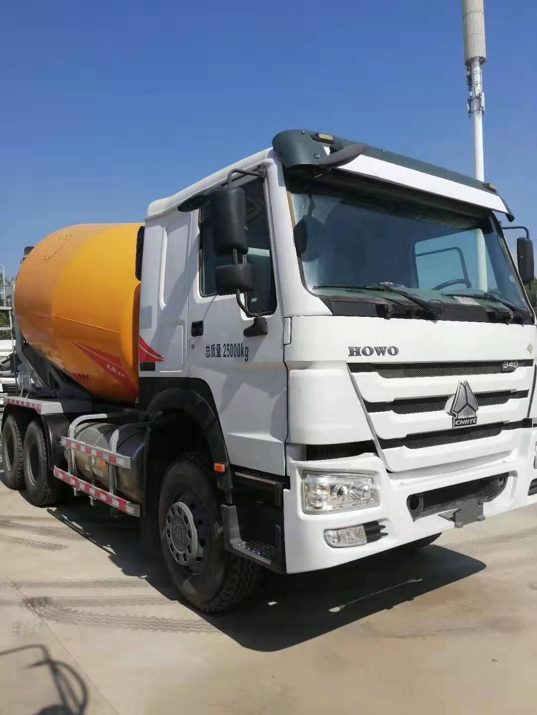 库存积压后八轮LNG混凝土水泥搅拌车介绍