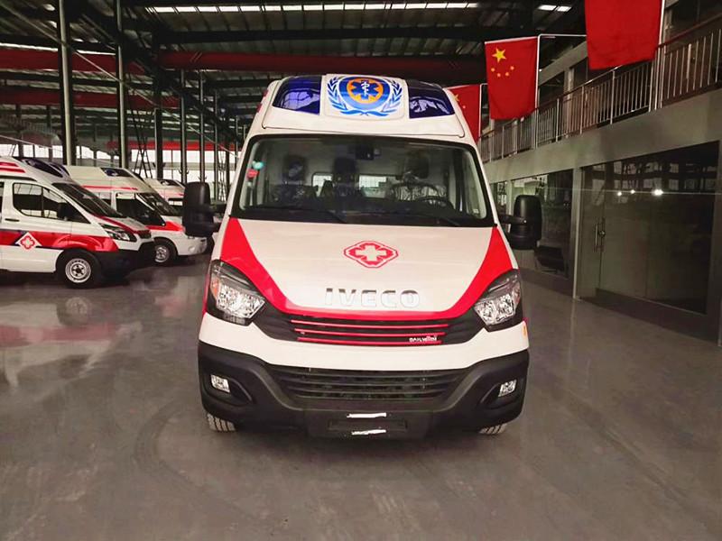 国六依维柯监护型救护车价格_依维柯欧胜救护车厂家_监护型救护车配置