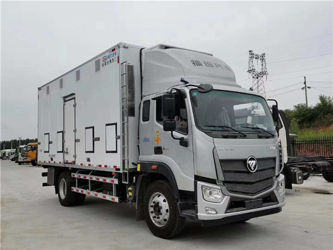 福田歐馬可S5雞苗運輸車內部配置詳細介紹與分析