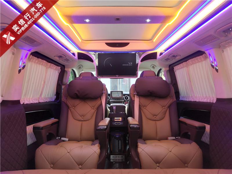 九江 瑞昌市 奔驰V级房车 7座V260定制版报价,指定车型降价10万