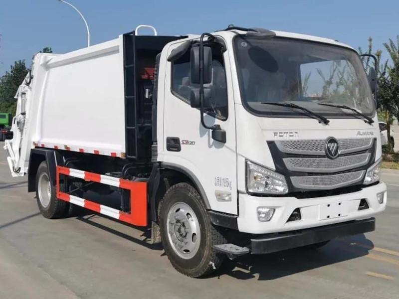 福田歐馬可8方壓縮垃圾車豪華來襲