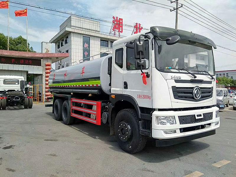 国六东风T5洒水车厂家推荐车型