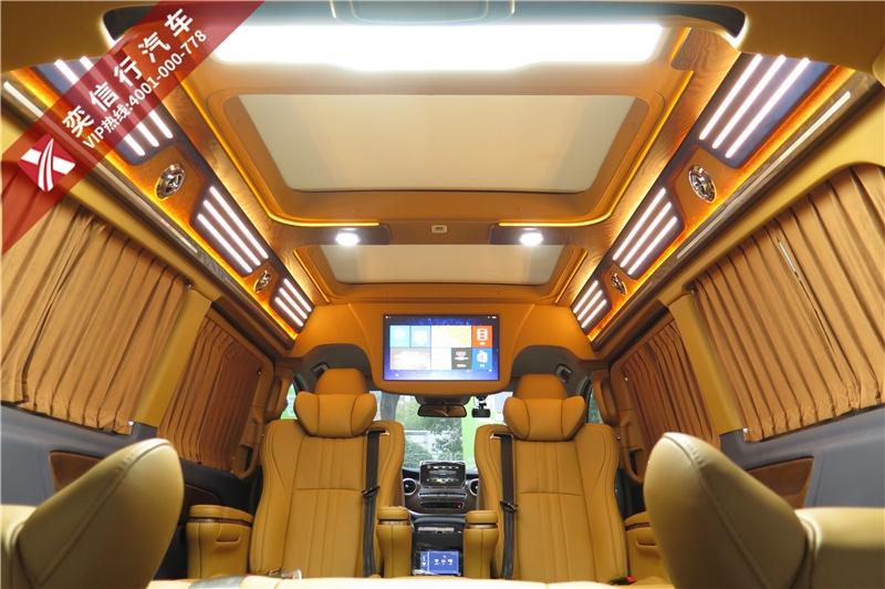 上饶 德兴市 奔驰v260L商务车改装 高顶双天窗 报销路费 购车送杭州2日游