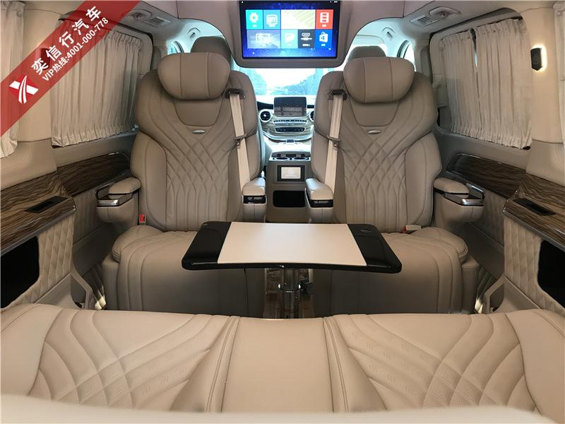 成都市 彭州 邛崃市 奔驰商务车定制改装 V260房车钻石版特价优惠6.8万