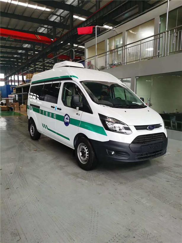 国六福特v362水质监测车_多功能检测车厂家_报价17871102989