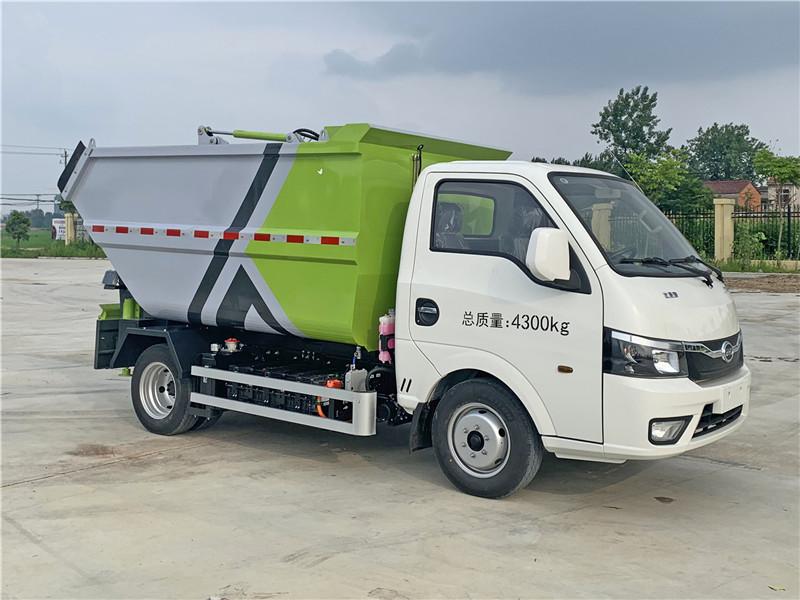 比亚迪纯电动自装卸式垃圾车隆重登场