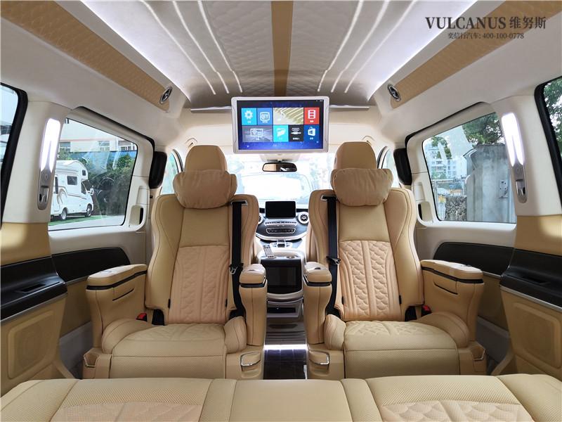 铂驰维努斯国际合作系列公务版,7座奔驰V260改装房车,成都车展上的明星商务车