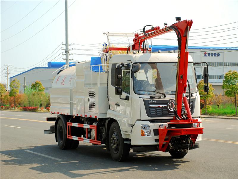 国六东风天锦多功能隧道清洗车一车多用,可在高速上完成任何清洗工作