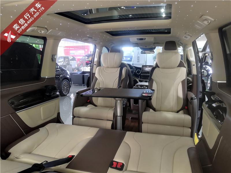 臺州  溫州 奔馳V260七座奔馳商務車中級改裝 價格實惠,奕信行汽車暑期大優惠