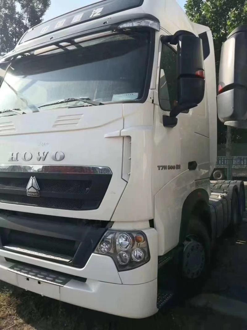 兩臺國六500馬力牽引車售全國