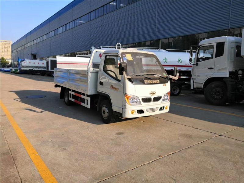 唐骏国六桶装垃圾运输车 可装15桶240升垃圾桶