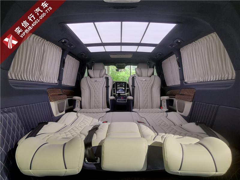 奔驰威霆改装房车,价格比V260低20万,企业老板买得起的豪华商务车