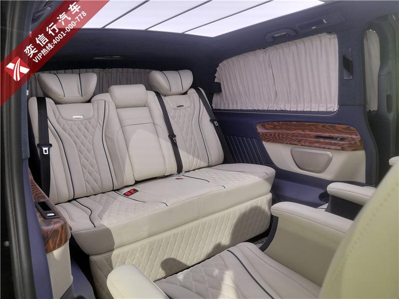 奔驰威霆改装7座房车 价格实惠有面子,小企业老板买得起的商务车