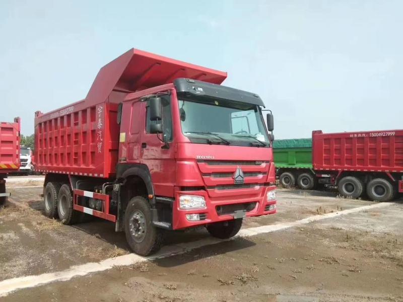 HOWO 7自卸車國二336馬力 出口 場內自用 5.6米 矩形箱
