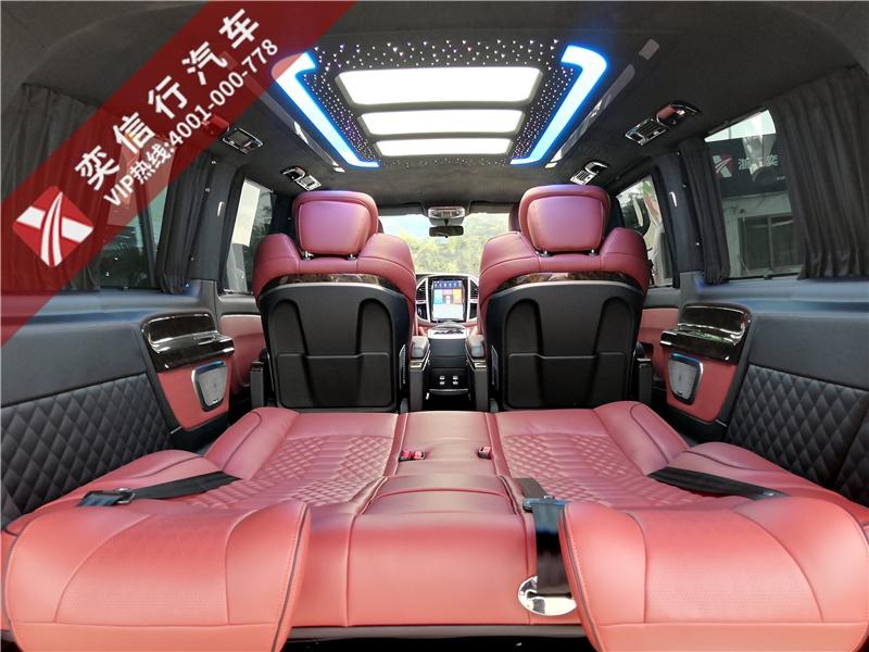 丹阳 扬中市 奔驰威霆7座商务车改装需要多少钱?内饰升级效果图片