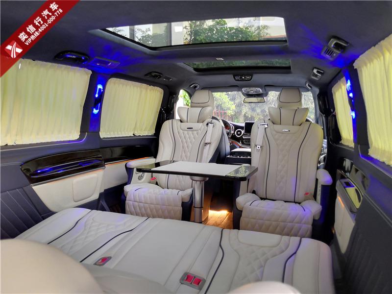 濮阳市 清丰县 福建奔驰V260商务车专卖4S店 V级房车内饰改装价格