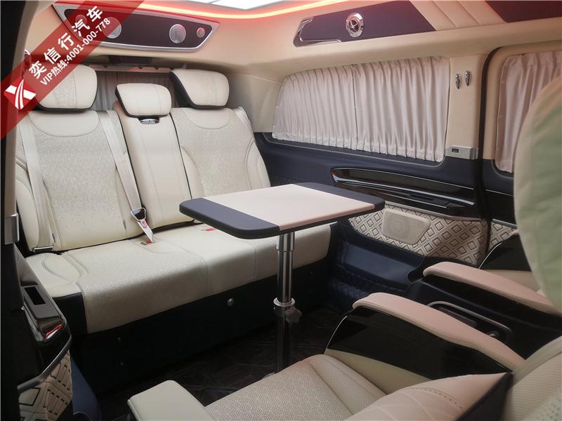 云浮 羅定市奔馳V級商務車房車 哪些項目可以定制升級,價格高嗎?