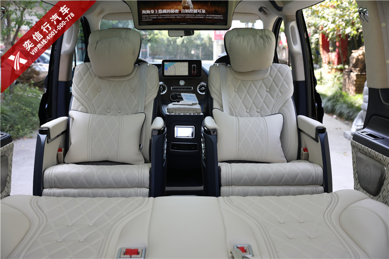 7座奔馳房車內飾改裝帶給你驚喜不斷!奔馳威霆商務車優惠報價圖片