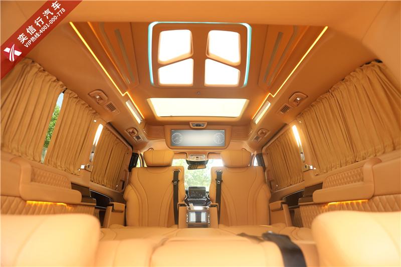湖南 奔馳V260商務車改裝定制 V級房車報價 油卡 杭州游統統送你
