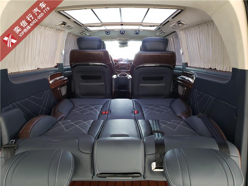 張家界 慈利縣 桑植縣奔馳威霆改裝V260中控多少價格?威霆房車內外外觀升級報價