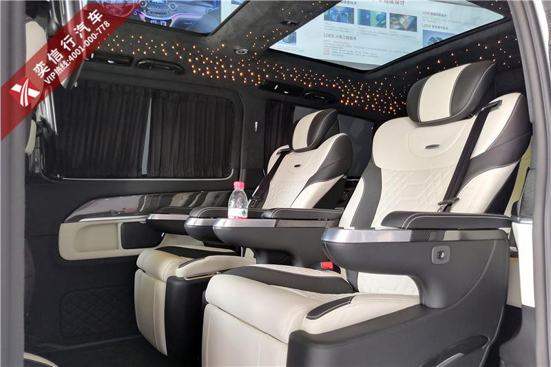 7座V260碳纤维改装大白鲨版 奔驰房车国内稀缺车型 报价优惠10万