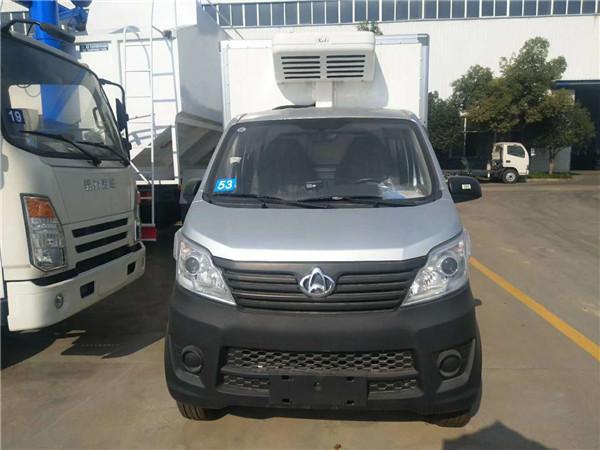 小型冷藏車 廂長2.6米冷藏車 國六長安神騏T20冷藏車