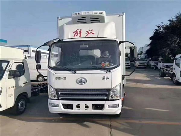大型冷藏車 解放J6L廂長7.6米冷藏車最大承載量15噸