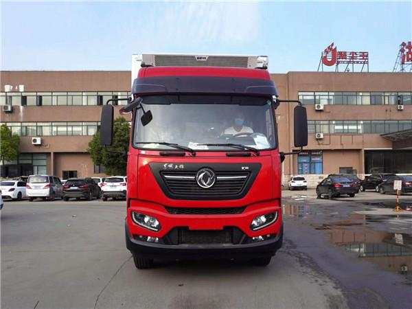 大型9.6米冷藏車 東風天龍前四后八冷藏車315馬力