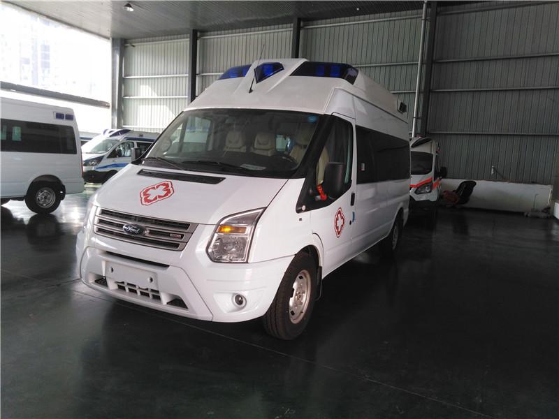 福特V348商用版救护车厂家_配置_价格
