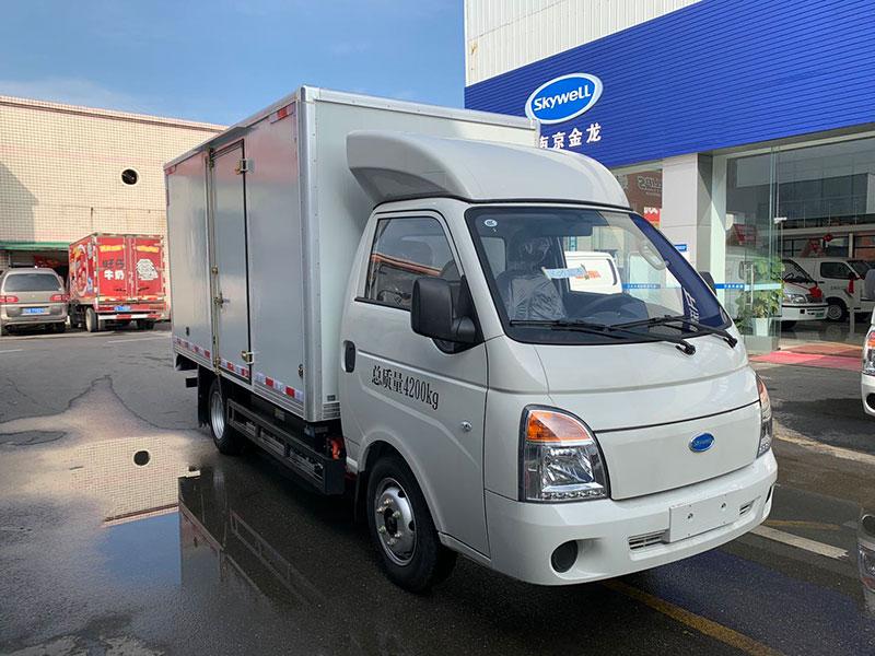 成都市新能源廂式貨車、3米6、4米2、出租、銷售、哪家好