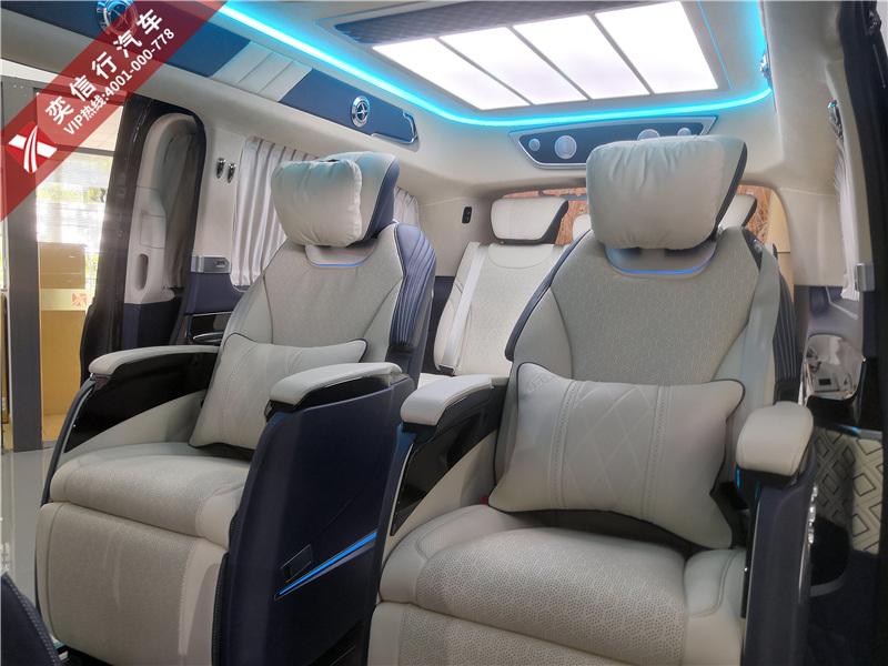 奔驰V级V260改装商务车图片 房车生产工厂直营店价格直降10万