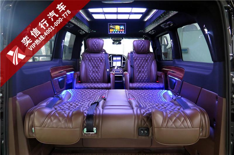 实惠又豪华的7座奔驰威霆房车-航空按摩椅+星空氛围灯,价格及图片