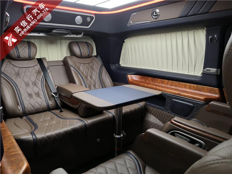 平顶山 2020款V260改装高顶房车报价?奔驰V级座椅 内饰升级多少价格