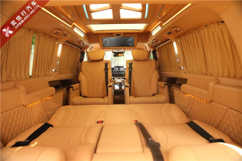 西安 奔馳V260改裝 V級房車賓利內飾風格 奢華獨具 金秋優惠報價