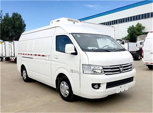 面包式冷藏车 小型长安睿行冷藏车 排半冷藏车厢长2.6米冷藏车