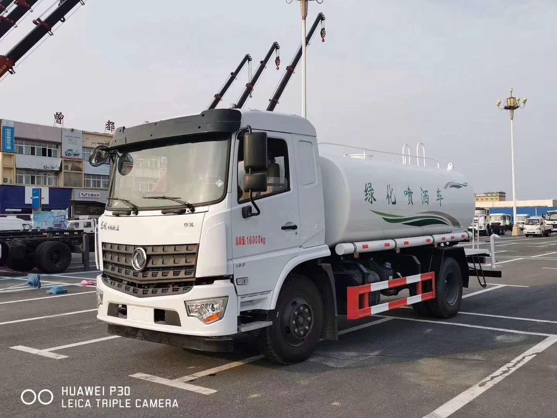 东风多利卡10-12吨洒水车免费送车上门包上户