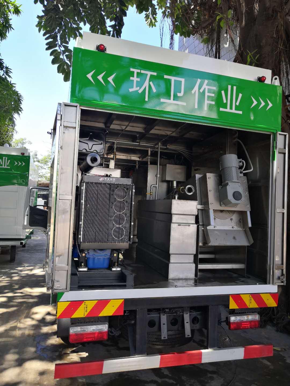 污水处理车-吸污净化车-污水净化车