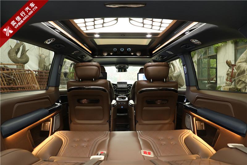 宣城 2020新奔驰V级 7座V260L房车定制 内饰改装报价 看车包路费,旅游不浪费