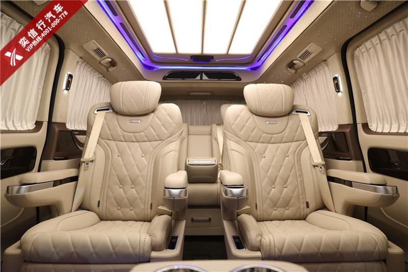 2020新款奔驰威霆优惠报价 奔驰威霆房车7座豪华MPV改装 图片展示